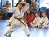 Brown Belt Student Demonstrates Forms