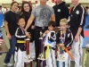 Park TKD Students at a Tournament